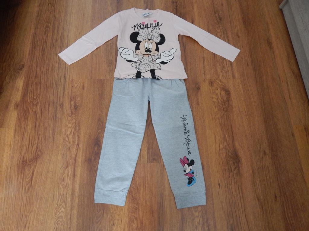Zestaw spodnie + bluzka rozm. 110 Minnie Mouse