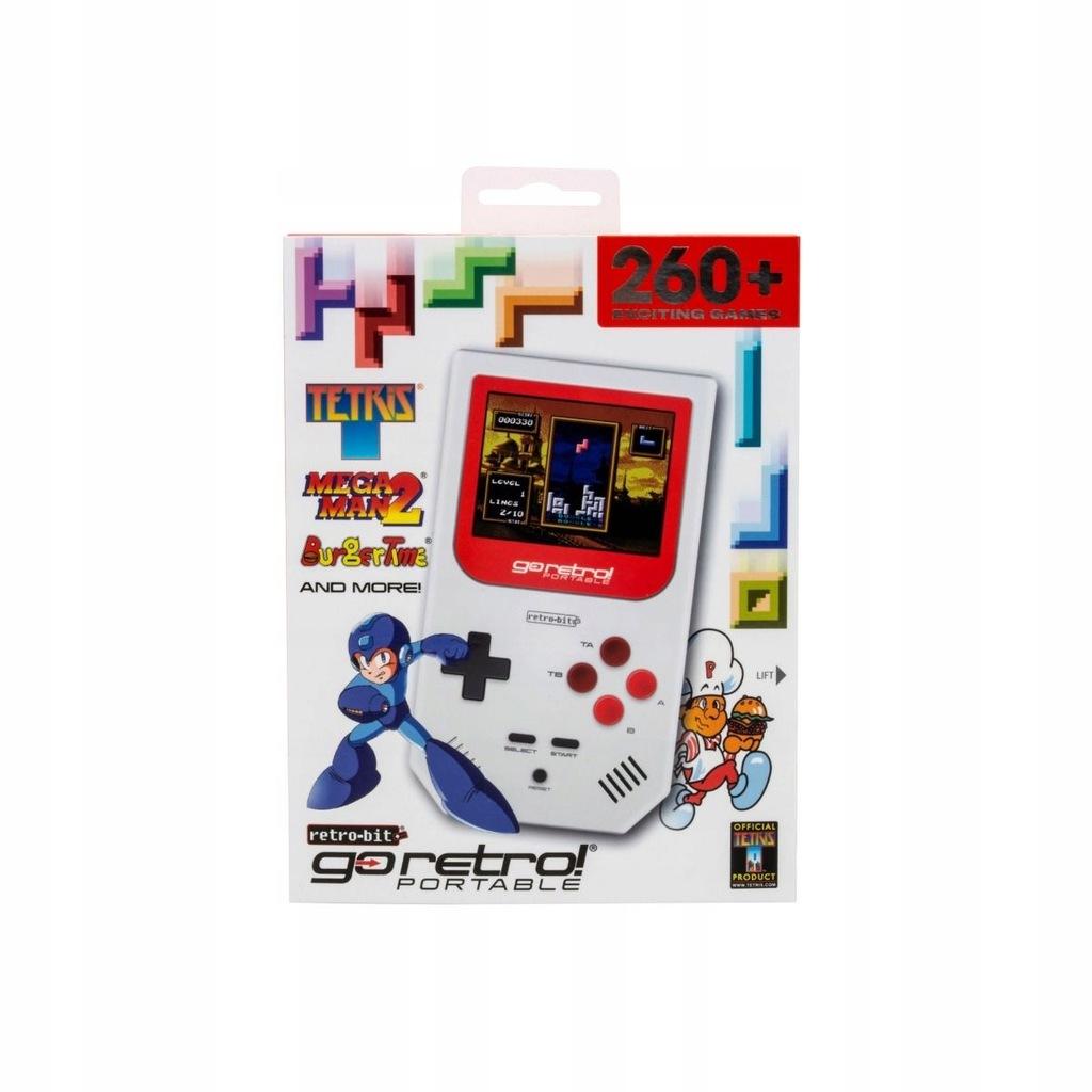 Retro-bit Go Retro 260 gier oficjalne licencje 24H