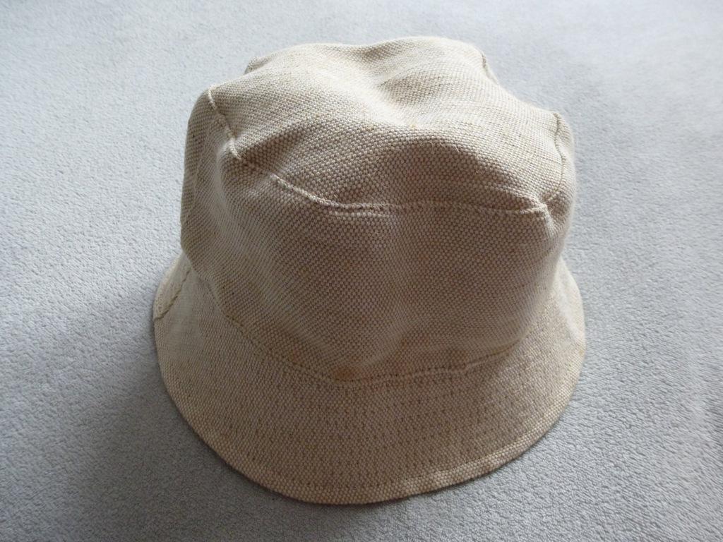 Stradivarius dwustronny kapelusz plażowy czapka