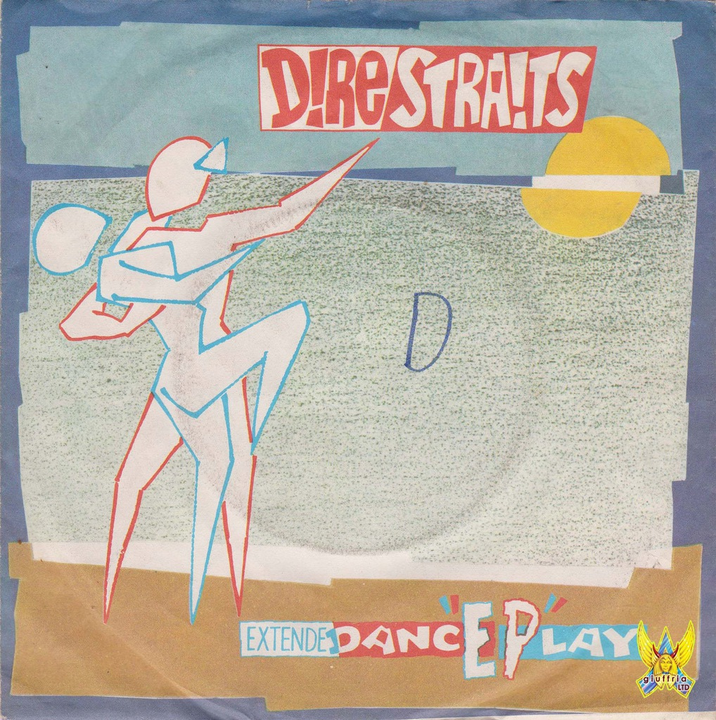 """DIRE STRAITS - Twisting By The Pool 7"""" (EX-)"""