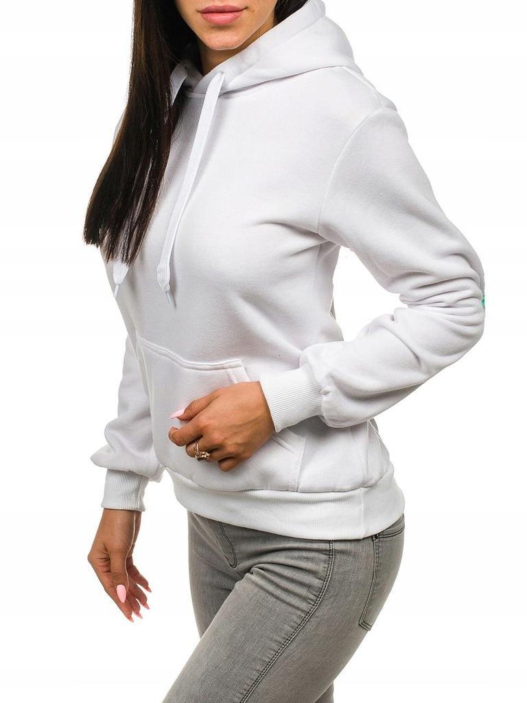 bluza damska na suwak z białymi kieszeniami allegro