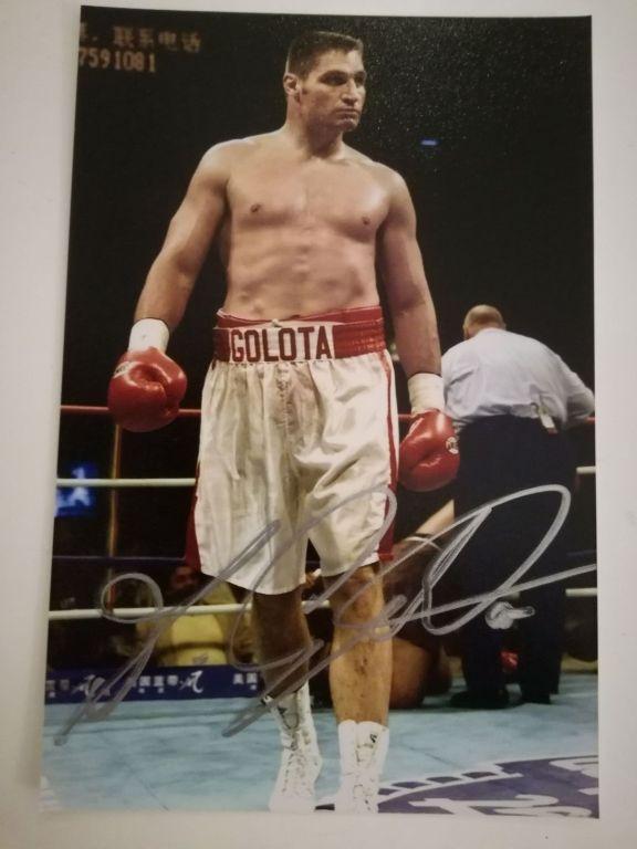Andrzej Gołota - boks - oryginalny autograf