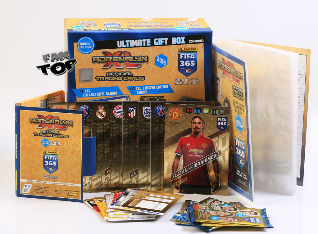 ULTIMATE GIFT BOX FIFA ALbum karty XXL Limited