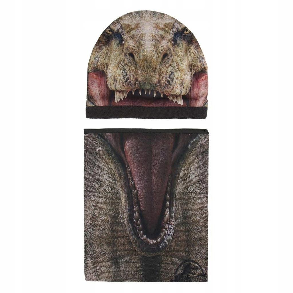 Park Jurajski Cerda zimowa Jurassic Park Czapka jesienna