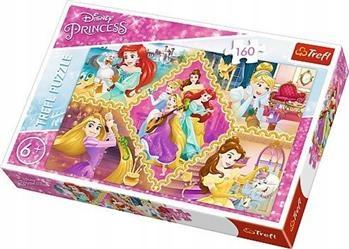 Puzzle 160 Przygody Księżniczek. TREFL