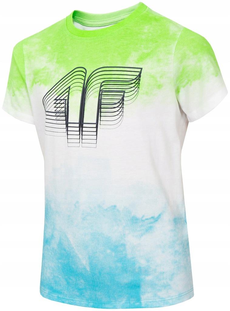 Koszulka 4F junior HJL20 JTSM019 rozm. 122