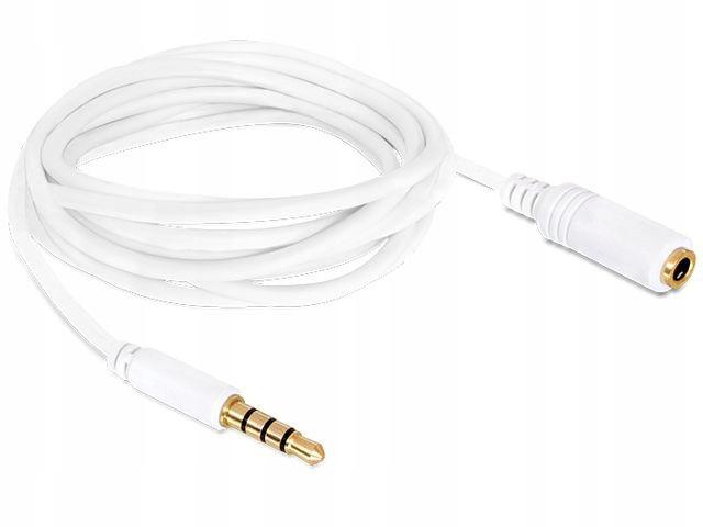 Przedłużacz kabla Audio mini Jack kabel 4-PIN 2m d