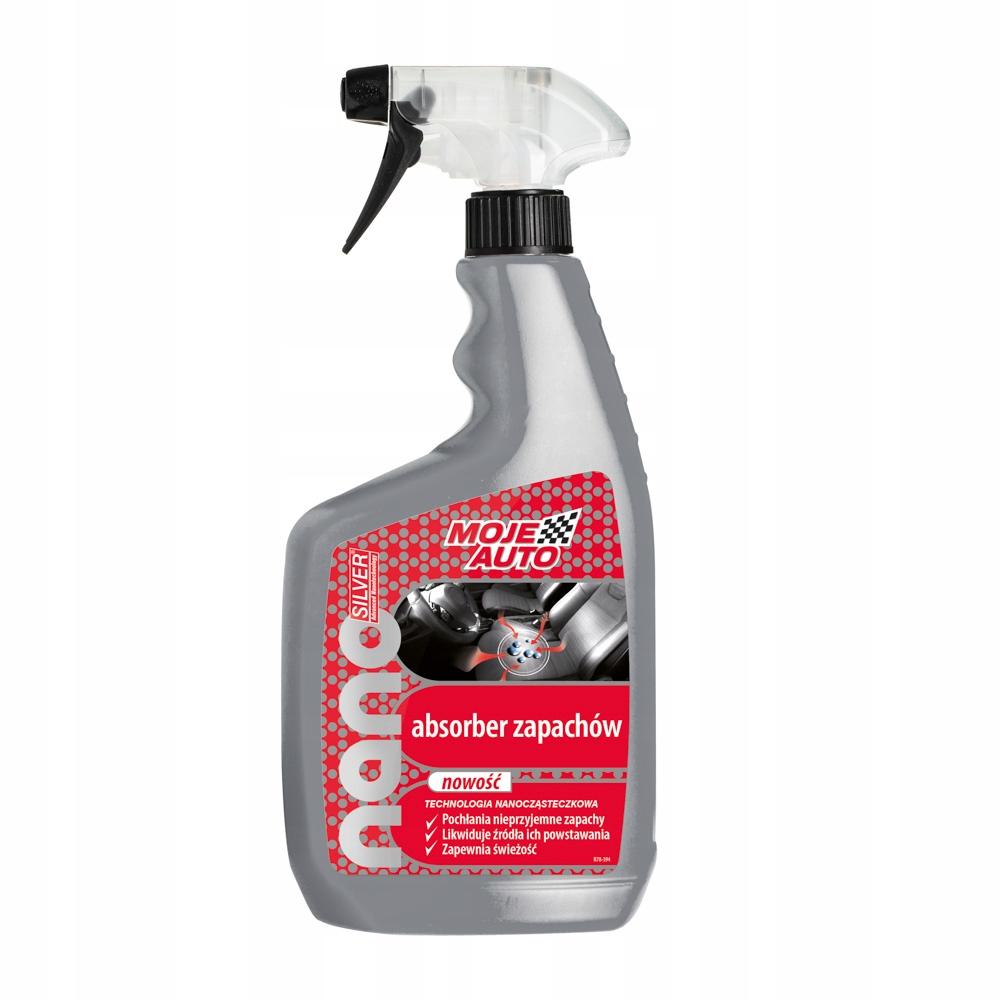 MOJE AUTO - Absorber zapachów Nanosilver 650ml