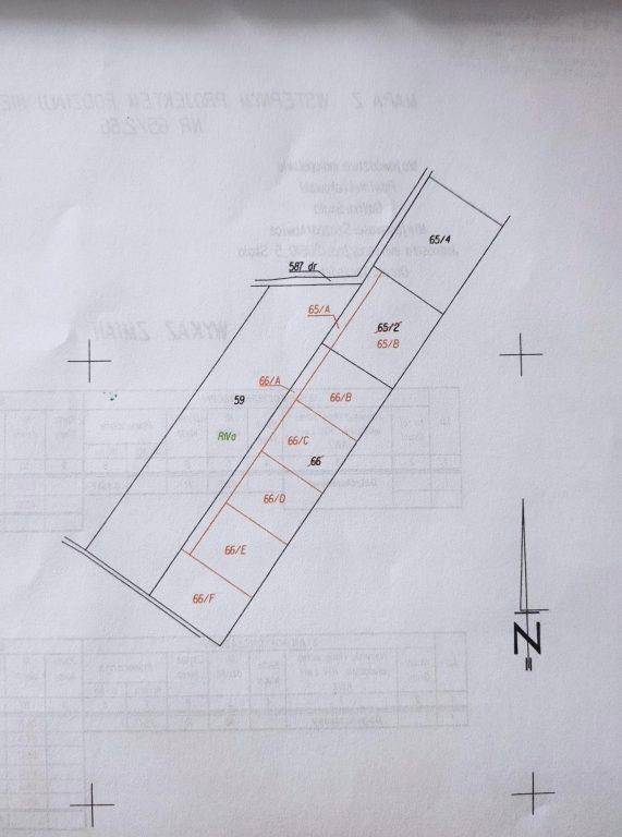 Działka, Szczodrkowice, Skała (gm.), 5400 m²