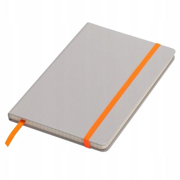 Notatnik 130x210/80k kratka Cartagena, pomarańczow