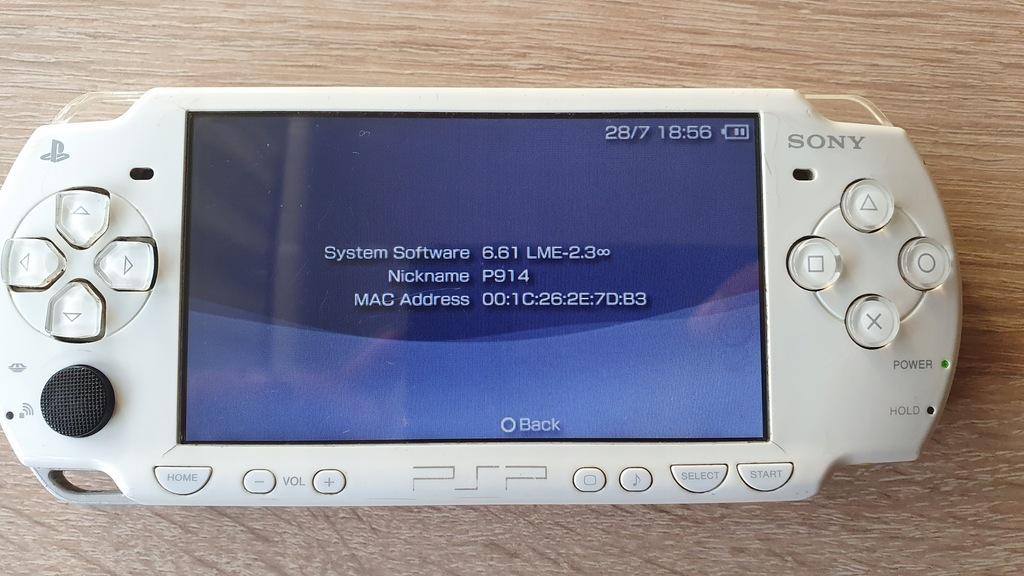Sony PSP Odblokowane PlayStation Portable Slim