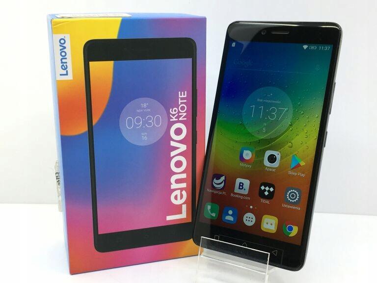 LENOVO K6 NOTE DUAL SIM 3+32GB SZARY #KOMPLET