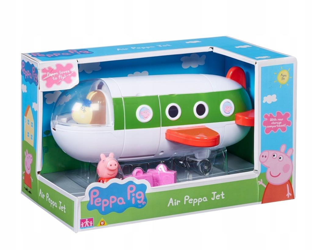 Świnka Peppa. Samolot + figurka. TM Toys. PEP06227