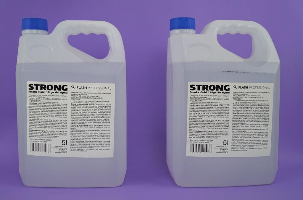 Płyn do wytwornic dymu STRONG 5 litrów Supercena !