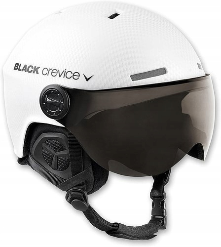 Kask narciarski BLACK CREVICE GSTAAD W 54-57 cm