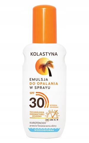 KOLASTYNA Emulsja Do Opalania W Sprayu SPF 30 -