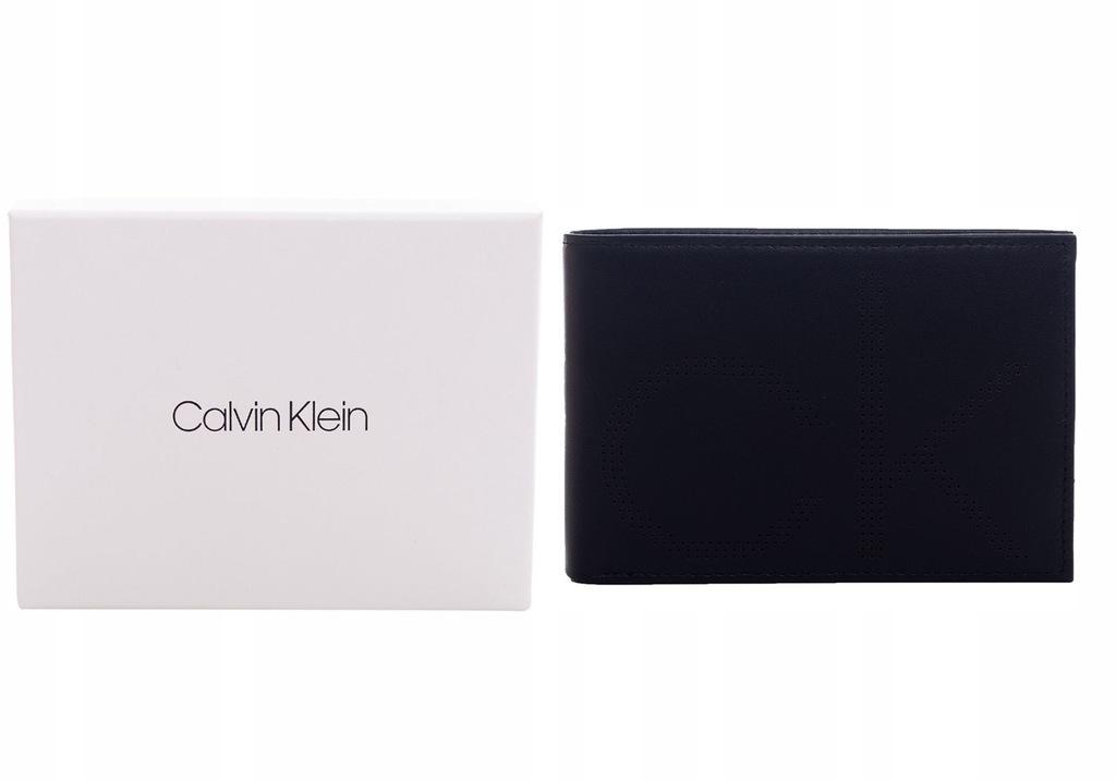 CALVIN KLEIN PORTFEL MĘSKI CK POINT 5CC COIN BLACK
