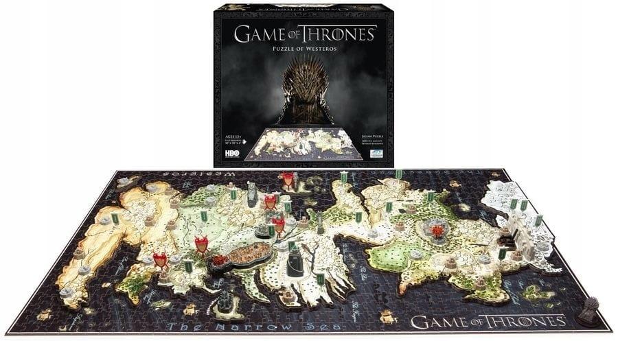 Puzzle 4d Gra O Tron Westeros Game Of Thrones 8133335343 Oficjalne Archiwum Allegro