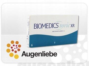 Biomedics Toric XR miesięczne soczewki -4