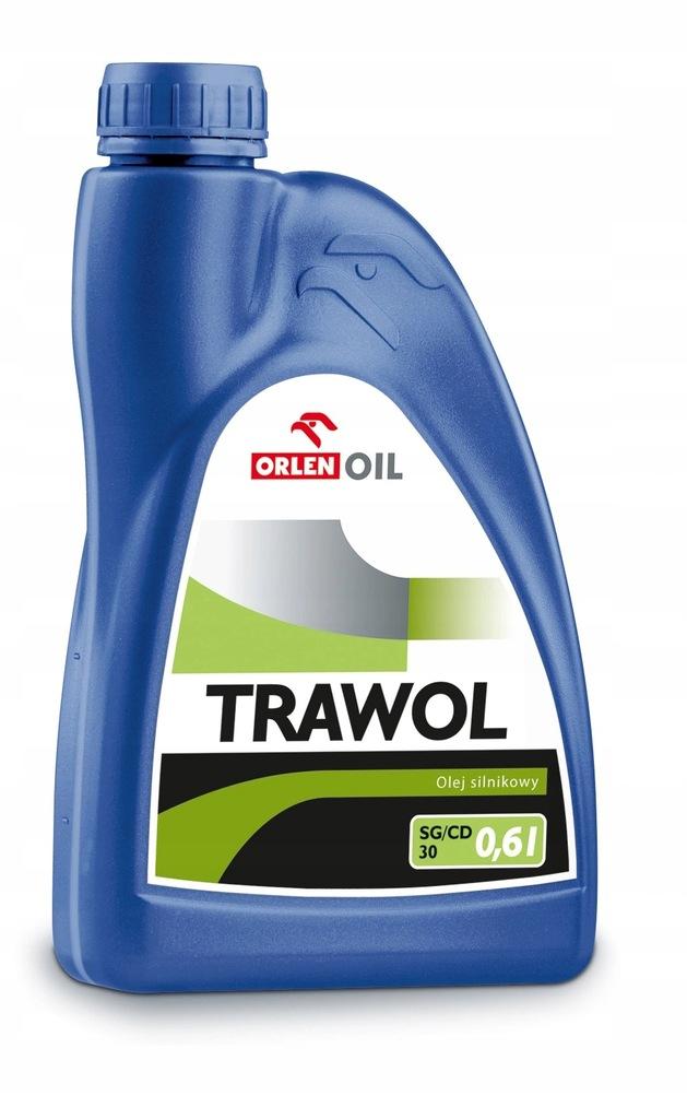 ORLEN Olej do kosiarek TRAWOL 4T SAE30 SG/CD 0,6 L
