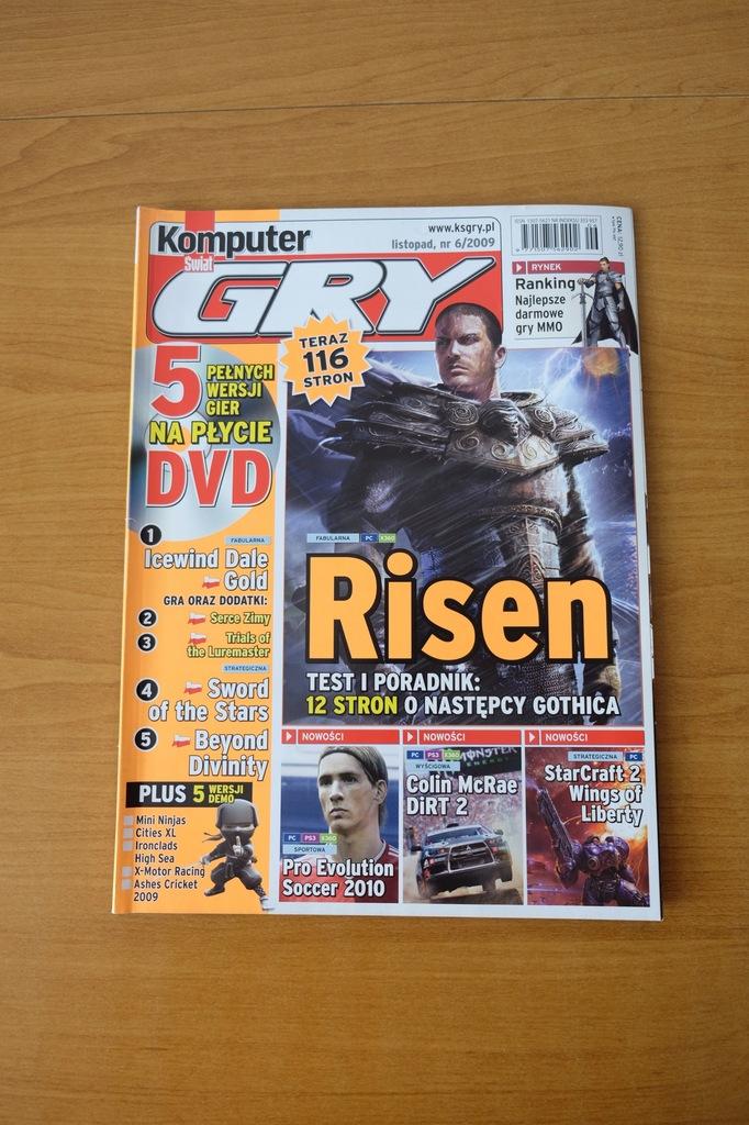 Komputer Świat Gry 6/2009 // Risen DiRT StarCraft