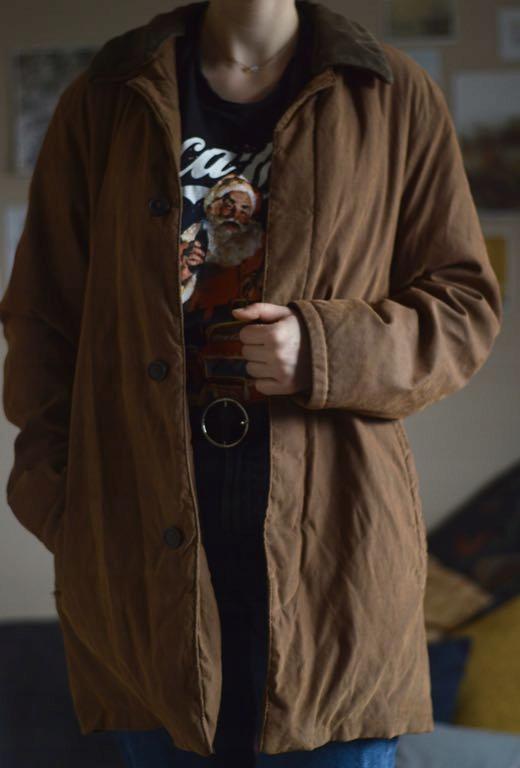 Kurtka zimowa vintage oldschool Pierre Cardin L