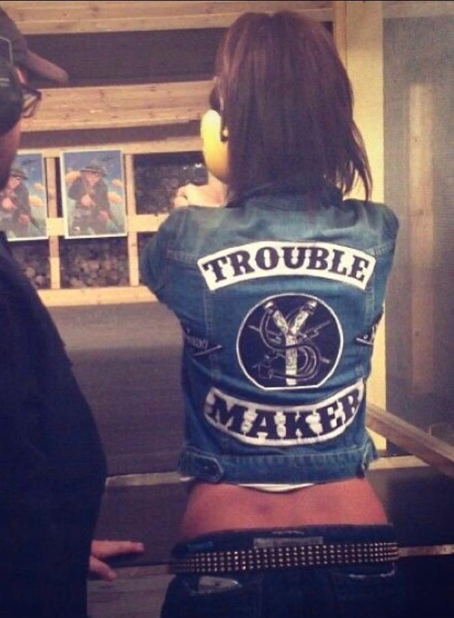 Misbhv katana kurtka jeans Trouble maker siwiec S