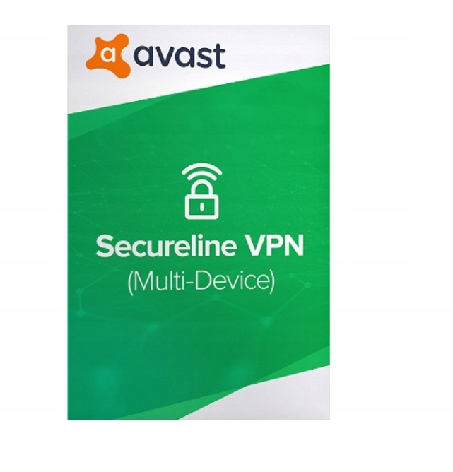 Avast SecureLine VPN 2020 5Pc 1rok Internet Securi