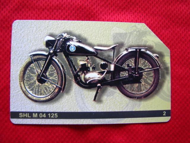 karta motocykle polskie - SHL M 04
