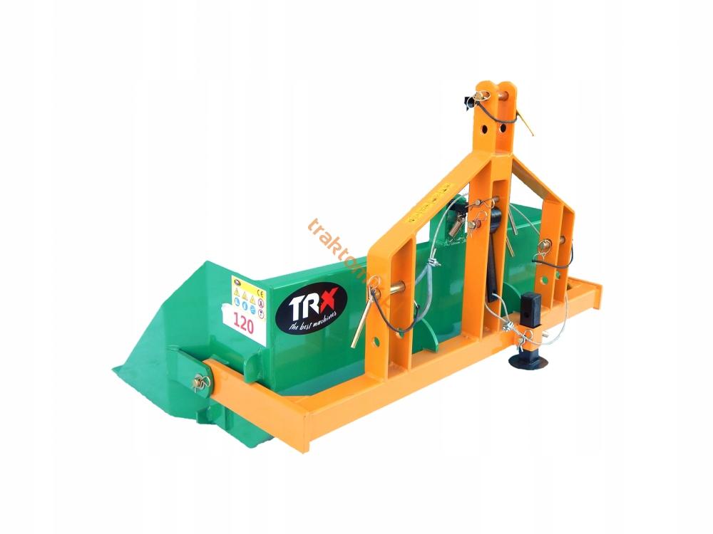 Skrzynia kiprująca hydraulicznie 120cm