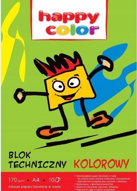 Blok techniczny A4 Happy Color