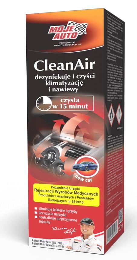 MOJE AUTO Czyszczenie Klimy CleanAir 150ml New Car