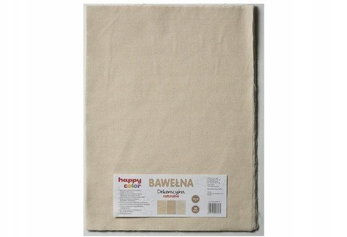 Bawełna dekoracyjna naturalna 30x40 cm 10 arkuszy