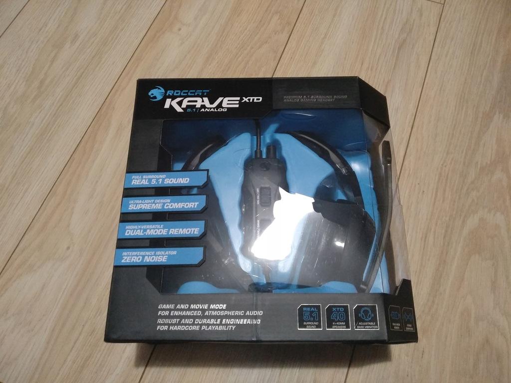 Słuchawki Roccat Kave XTD 5.1 Analog CS:GO