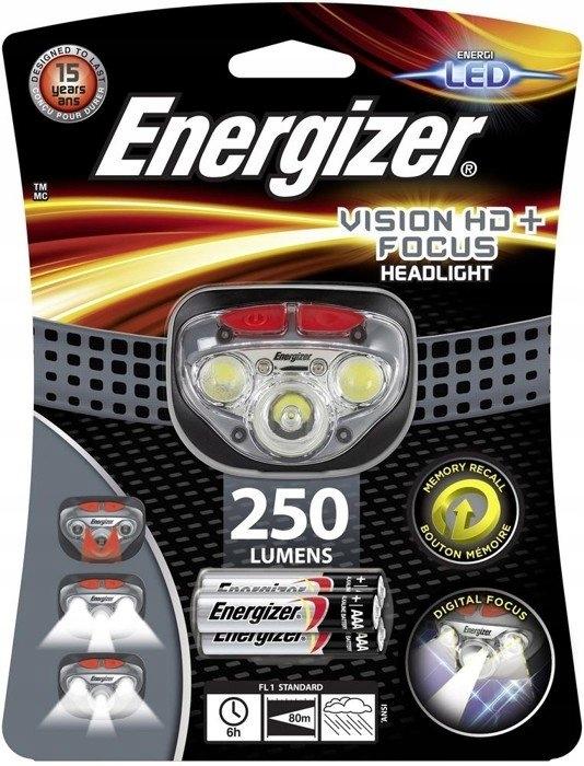 CZOŁOWA LATARKA LAMPKA NA GŁOWĘ ENERGIZER