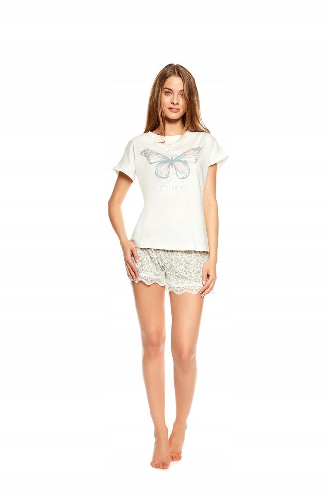 Piżama Twinkle 36812-01X Ecru-szara