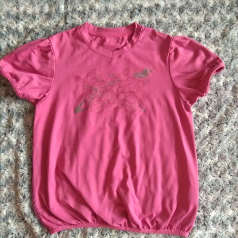 Koszulka sportowa dziewczęca, carite, 152