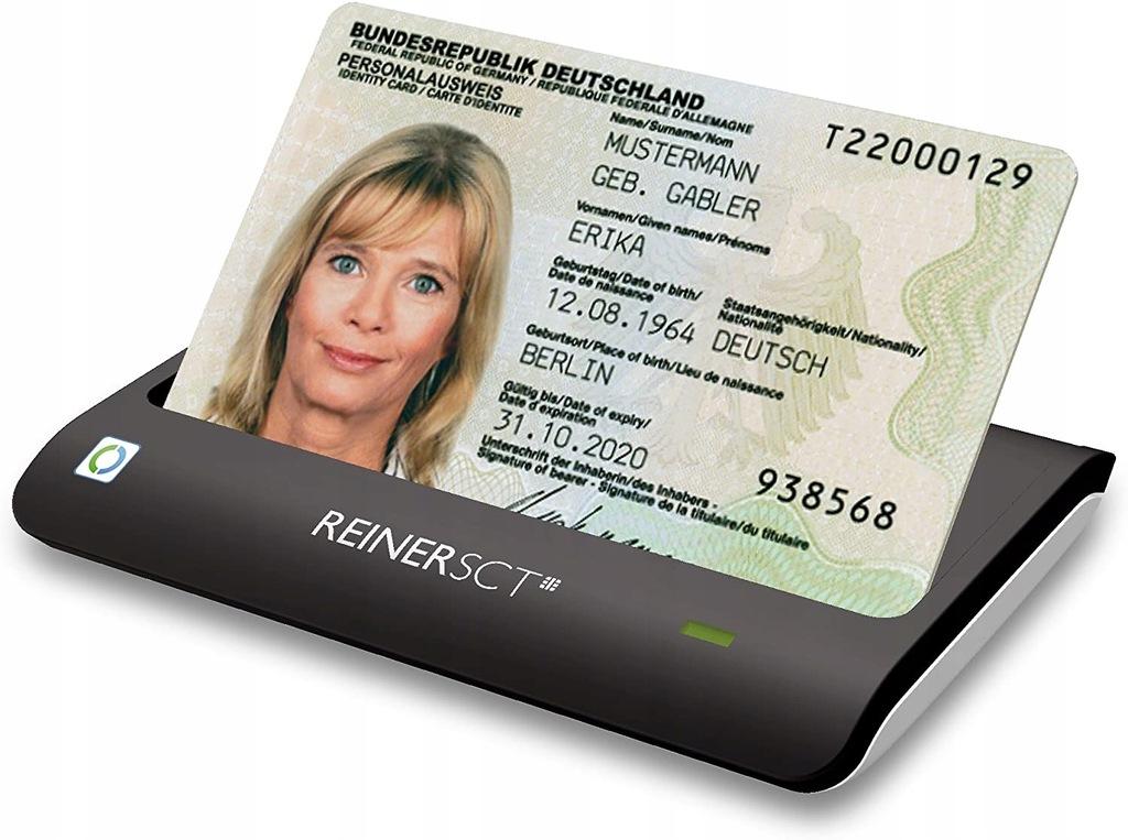 H6995 CZYTNIK KART CHIPOWYCH RFID REINER SCT
