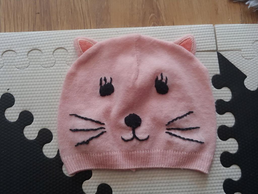 Cool club cudna czapka kotek wiosna roz.50-52 3-4l