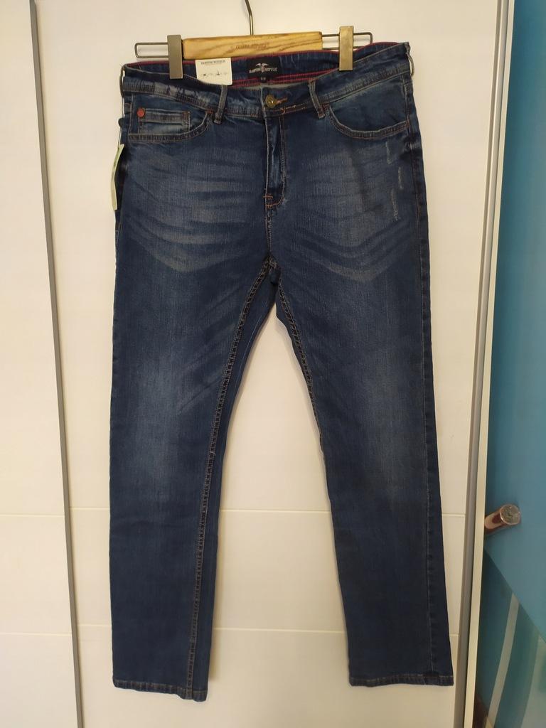 hampton republic nowe jeansy rurki 34/32