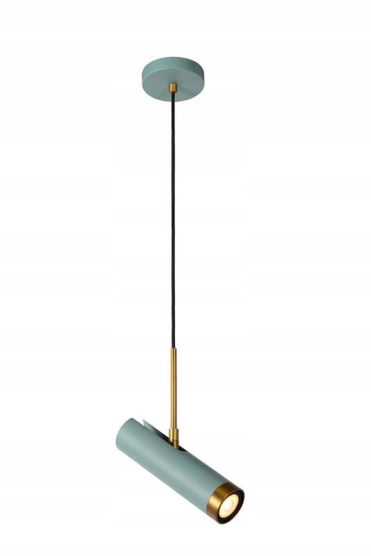 Lampa wisząca turkusowa SALON 1xGU10 NIEMIECKA HIT