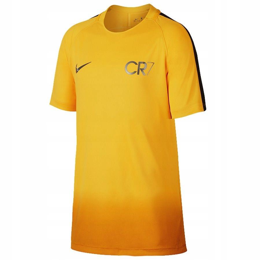 Koszulka Nike CR7 Y NK DRY XL-176 cm pomarańczowy