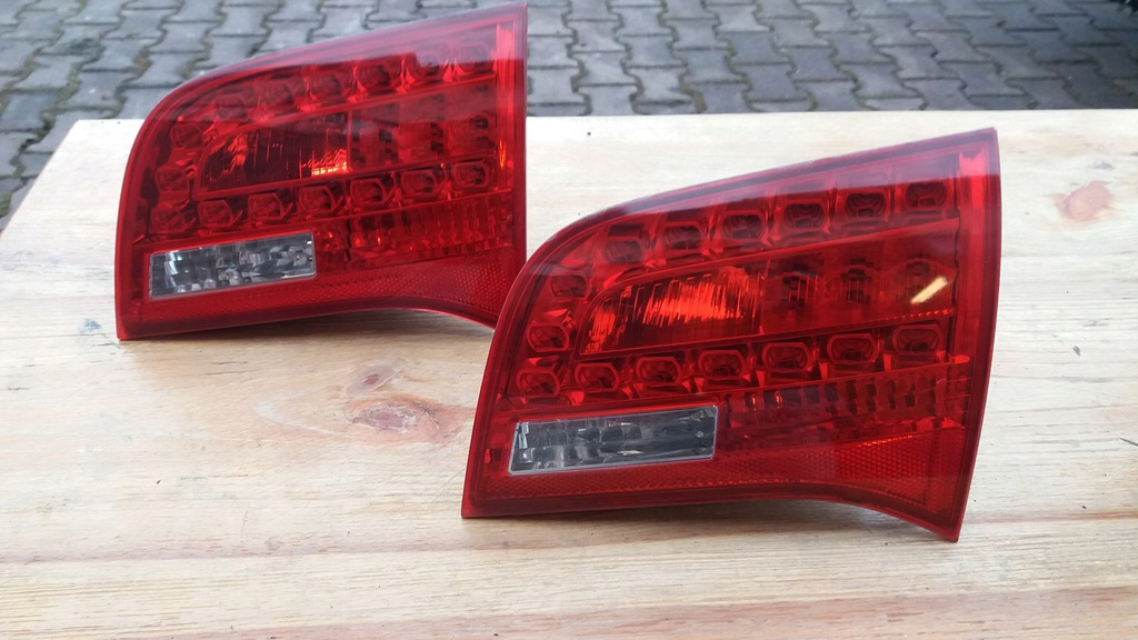 Lampa Tyl Audi A6 C6 W Klape Led Kombi Avant Prawa 7839568653 Oficjalne Archiwum Allegro