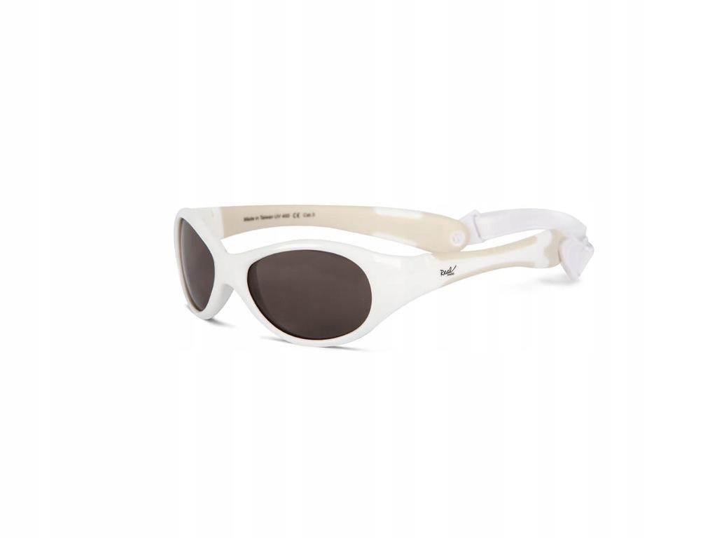Okulary przeciwsłoneczne EXPLORER - White 0+