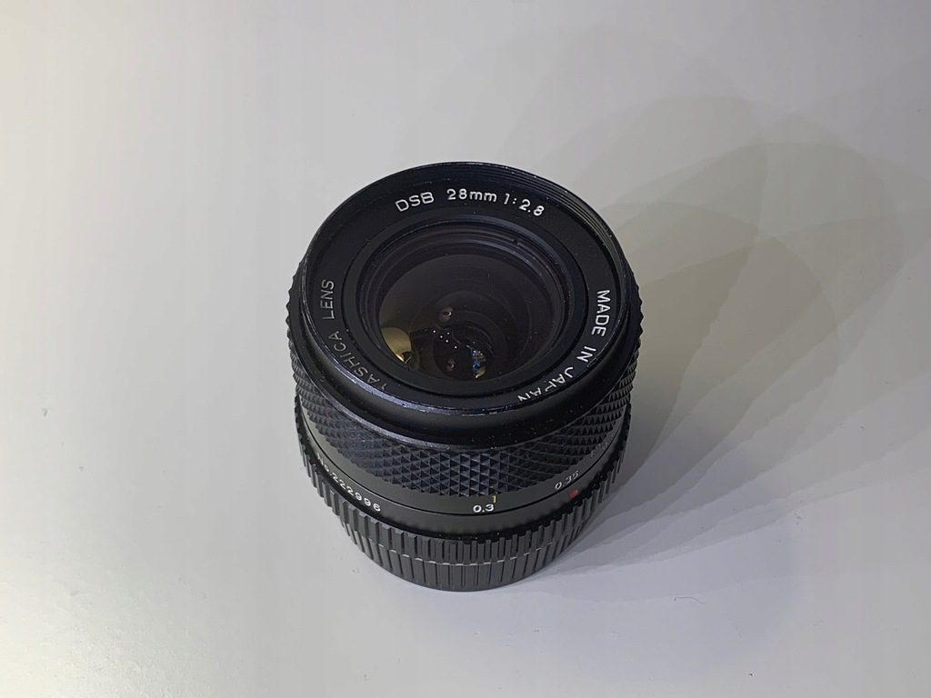 Yashica DSB 28mm f/2.8 Contax
