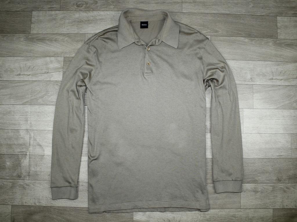 Beżowa Bluzka Polo HUGO BOSS Black Roz XXL