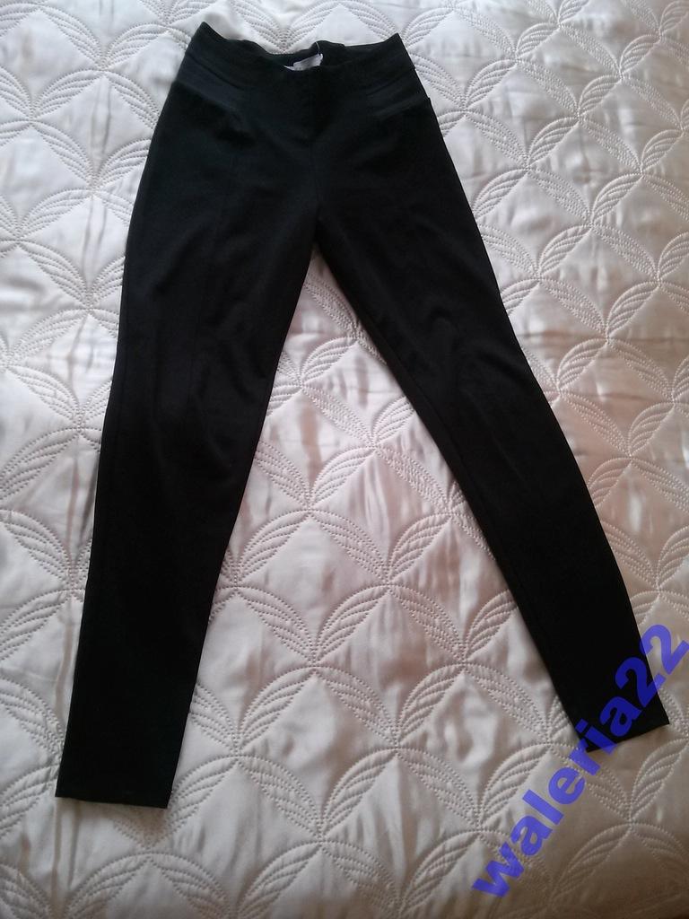 Spodnie czarne legginsy rozm. 36 S RESERVED