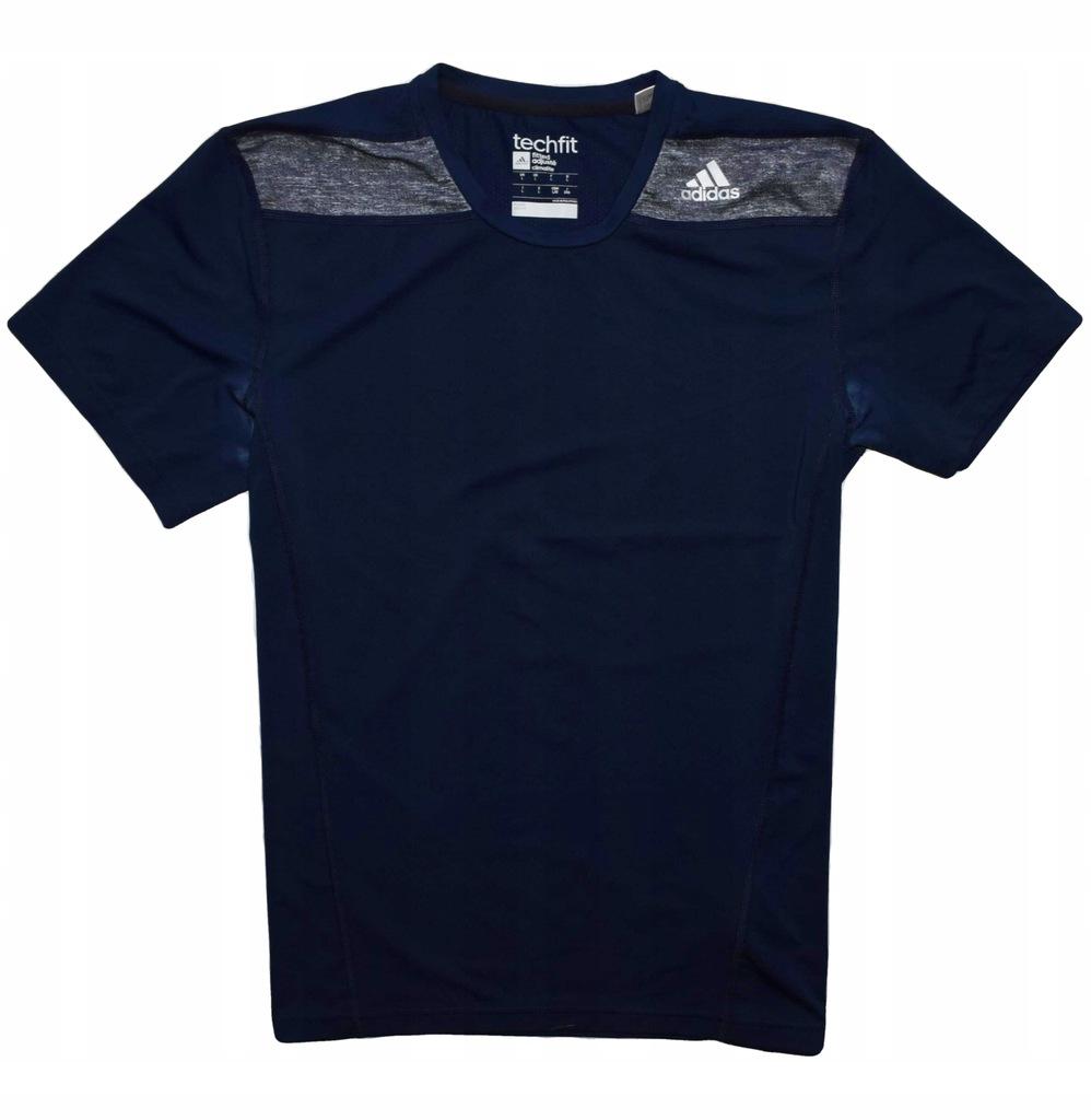 Adidas techfit L koszulka na siłownie crossfit