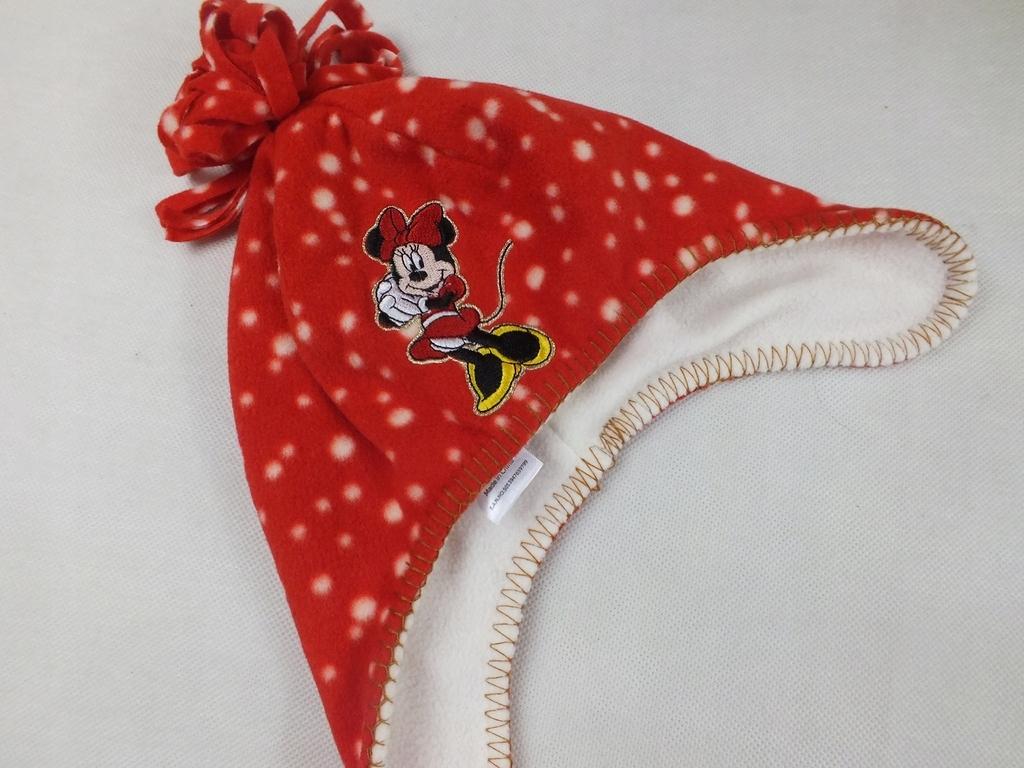 Disney polarkowa czapka z Minnie jesień zima 12mc+