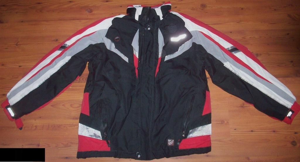 Kurtka męska Softshell 4F czarno czerwona H4Z19 SFM003 62S